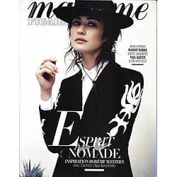 MADAME FIGARO n°22854 02/02/2018  Olga Kurylenko/ Mode esprit nomade/ Paul Auster & Siri Hustvedt/ Sheryl Sandberg/ Margot Robbie