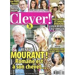 CLEVER n°2  octobre 2018  Renaud/ Paradis&Benchetrit/ Smet&Laeticia Hallyday/ Pernaut