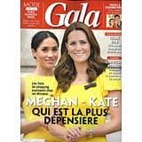 GALA n°1321 03/10/2018  Meghan & Kate: leur budget garde-robe/ Pavard & Legrain-Trapani/ Céline Dion/ Gaultier/ Pernaut