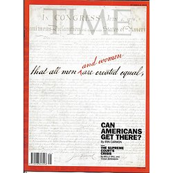 TIME VOL.192 n°14 08/10/2018  In search of equality/ Bradley Cooper & Lady Gaga/ Supreme Court's crisis