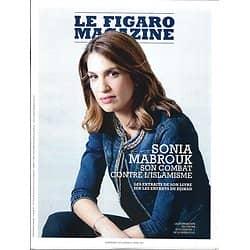 LE FIGARO MAGAZINE n°22926 27/04/2018  Sonia Mabrouk/ Lima: le mur de la honte/ Collection Rockfeller