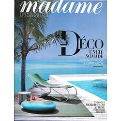 MADAME FIGARO n°22920 20/04/2018   Spécial déco: un été nomade/ Femmes digitales/ Charles pépin/ Ka Bru Beach au Brésil