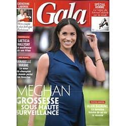 GALA n°1324 24/10/2018  Meghan Markle/ Alain Bashung/ Victoria Beckham/ Laeticia Hallyday/ Anna Todd