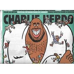 CHARLIE HEBDO n°1256 17/08/2016  Teddy le pyjama, la nouvelle idole des Français