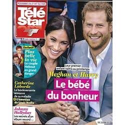 TELE STAR n°2195 27/10/2018  Meghan & Harry/ Catherine Laborde/ Elodie Gossuin/ Stéphane Bern/ Laury Thilleman