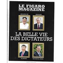 LE FIGARO MAGAZINE n°22979 29/06/2018  La belle vie des dictateurs/ Métro de Moscou/ L'humanitaire en crise/ Club Med à Celafu