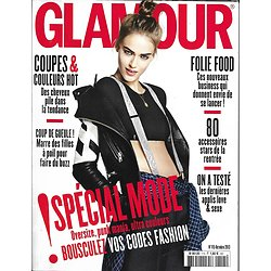 GLAMOUR n°115 octobre 2013  Spécial mode/ Spécial cheveux/ Tess Hellfeuer/ Folie food
