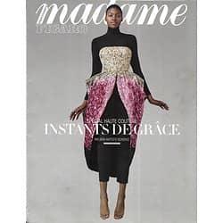 MADAME FIGARO n°23009 03/08/2018  Spécial haute couture/ Naomi Watts héroïne/ La saga Picasso/ Haute joaillerie/ Oasis à Ibiza/ Londres par Jamie Dornan