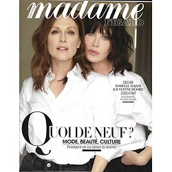 MADAME FIGARO n°23020 17/08/2018  Julianne Moore & Isabelle Adjani, stars à part/ Positive thinking/ Quoi de neuf à la rentrée