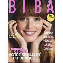BIBA (Pocket) n°465 novembre 2018  Ce que votre sexualité dit de vous/ Ludivine Sagnier/ PMA/ Bons plans montagne