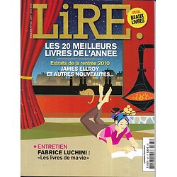 LIRE n°381 déc.2009-janv.2010  20 meilleurs livres de l'année/ Luchini/ Veyron/ Beaux livres/ Gogol/ Céline/ Atkinson