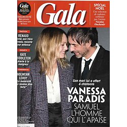 GALA n°1327 14/11/2018  Vanessa Paradis/ Nolwenn Leroy/ Renaud/ Elysée/ Kenzo Takada/ Spécial Noël