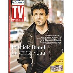 """TV MAGAZINE 25/11/2018  Patrick Bruel/ Laurent Gerra/ """"Les Rivières Pourpres""""/ """"Hippocrate"""""""