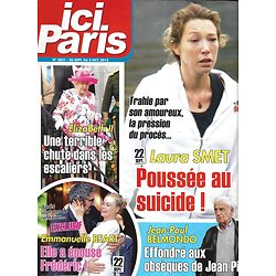 ICI PARIS n°3821 26/09/2018  Laura Smet/ Belmondo/ Emmanuelle Beart/ Elizabeth II/ Céline Dion