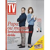 """TV MAGAZINE 02/12/2018  """"papa ou maman"""" Florent Peyre & Emilie Caen/ Public Sénat/ Affaire Grégory"""