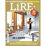 LIRE n°411 déc. 2012-jan.2013  Les 20 meilleurs livres/ Pollock/ Rentrée 2013/ Salman Rushdie/ Robert Misrahi/ Catheine Robbe-Grillet