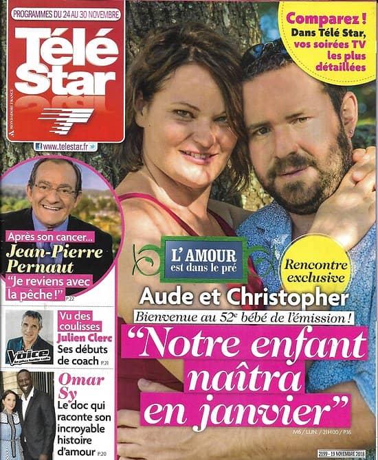 TELE STAR n°2199 24/11/2018  L'amour est dans le pré/ Pernaut/ J.Clerc/ O.Sy/ Vanessa Paradis/ Louise Bourgoin/ C.Deneuve
