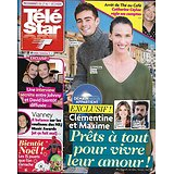 TELE STAR n°2200 01/12/2018  Demain nous appartient-Hardy&Rémiens/ Hallyday/ Vianney/ iris Mittenaere/ Laetitia Casta