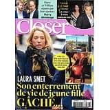 CLOSER n°703 30/11/2018  Laura Smet/ Harry&Williams/ Clooney/ Hallyday/ Chris Pratt/ Heidi Klum/ Kit Harington