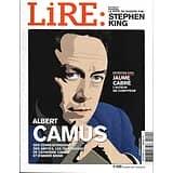 LIRE n°420 novembre 2013  Albert Camus/ Stephen King/ Jaume Cabré/ Carol Oates/ Dahlia noir