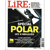 LIRE n°424 avril 2014  Spécial polar/ saga Ellroy/ Pelecanos/ Indridason/ Jules Romains