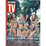 TV MAGAZINE-Le Figaro magazine 09/12/2018  Spécial Miss France 2019/ Marine Lorphelin/ Julie Andrieu/ Cop24/ Laëtitia Milot