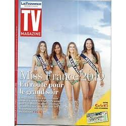 TV MAGAZINE 09/12/2018  Spécial Miss France 2019/ Marine Lorphelin/ Julie Andrieu/ Cop24/ Laëtitia Milot (copy)
