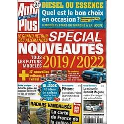 AUTO PLUS n°1579 07/12/2018  Spécial Allemagne: nouveautés 2019-2022/ Bon choix occasion/ Radars vandalisés