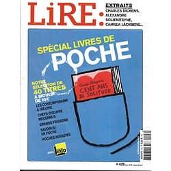 LIRE n°426 juin 2014  Spécial livres de poche/ Charles Dickens/ Maurice Godelier/ Dominique Noguez