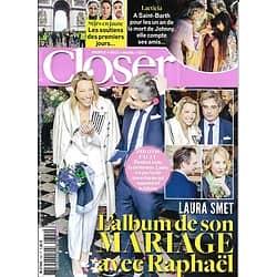 CLOSER n°704 07/12/2018  Laura Smet/ Laeticia Hallyday/ Stars en jaune/ Miss France/ Sharon Stone/ Chris Marques