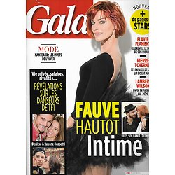 GALA n°1218 12/10/2016  Fauve Hautot/ Flavie Flament/ Lambert Wilson/ Brigitte Bardot/ Pierre Tchernia/ Mazarine Pingeot