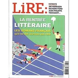 LIRE n°438 septembre 2015  La rentrée littéraire/ Mathias Enard/ Grangé/ Millénium/ Perrault