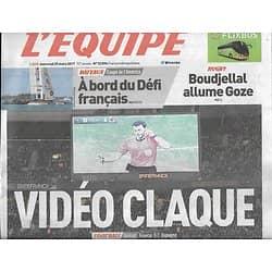 L'EQUIPE n°22896 29/03/2017  Recours à la vidéo/ France-Espagne/ les Bleus/ LeBron/ Cammas/ Lobbe/ Pinot