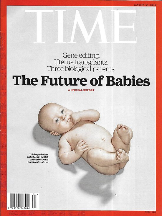 TIME VOL.193 n°1 14/01/2019  The future of babies & fertility/ Permian is reshaping the U.S./ Syrian women/ Trump & Russia/ Oscar movies