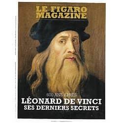 LE FIGARO MAGAZINE n°23144 11/01/2019  Leonard de Vinci, ses derniers secrets/ Cap sur l'Arctique russe/ Présidents en guerre/ Langkawi, l'ivresse de la jungle