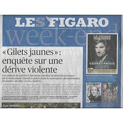 LE FIGARO n°23116 07/12/2018  Gilets jaunes la dérive/ Professions libérales/ Chang'e4-Lune/ Moines de Tobéhérine/ Les albums cultes de 1968