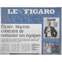 LE FIGARO n°23138 04/01/2019  Remaniement à l'Elysée/ Retrait US de Syrie/ Librairie al-KItab/ Autoentrepreneur/ Ciné-concerts