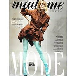 MADAME FIGARO n°23026 24/08/2018  Guest star: Nadja Bender/ Spécial mode/ Virgil Abloh/ Créateurs/ Jeff Bezos/ Chamanisme/ Mode & influences des séries