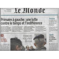 LE MONDE n°22386 03/01/2017  Primaire à gauche/ Hollande en Syrie/ Marché de l'occasion/ Kaplan passion Rembrandt/ Colorado haut en couleur