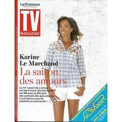 """TV MAGAZINE 27/01/2019  Karine Le Marchand-L'amour est dans le pré/ Laurence Boccolini/ """"Qu'est-ce qu'on a fait au Bon Dieu?"""""""