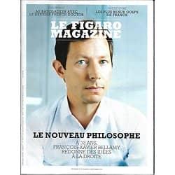 LE FIGARO MAGAZINE n°23056 28/09/2018  Bellamy, le nouveau philosophe/ Seconde Guerre Mondiale en infographies/ Plus beaux golfs de France