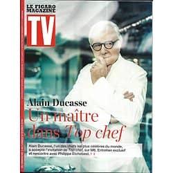 TV MAGAZINE 03/02/2019  Alain Ducasse/ Philippe Etchebest/ Philippe Lacheau/ Daphné Bürki/ Engrenages