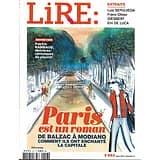 LIRE n°453 mars 2017  Paris est un roman, la capitale et les écrivains/ Jacques Prévert/ Victor del Arbol/ Salon du Livre Maroc