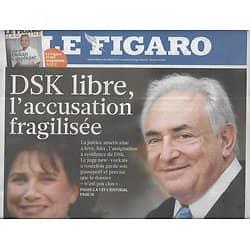 LE FIGARO n°20813 02/07/2011  Affaire DSK/ Hemingway/ Mariage à Monaco/ Tour de France/ Sauvetage Grèce