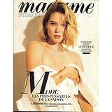 MADAME FIGARO n°23086 02/11/2018  Léa Seydoux/ Roberto Saviano/ Elections USA: midterms/ Charlize Theron/ William Morris-Arts&Crafts