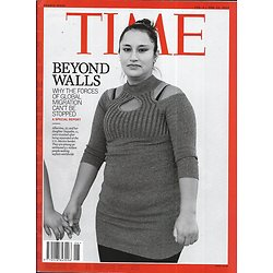 TIME VOL.193 n°4&5 04/02/2019  Beyond walls: migration boom/ Mapping the futur: 4th industrial revolution