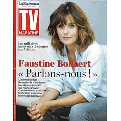 TV MAGAZINE 17/02/2019 (La Provence)  Faustine Bollaert/ Jarry/ Le sens de l'effort/ Elisabeth Quin/ NCIS: L/A.