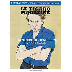 LE FIGARO MAGAZINE n°23133 28/12/2018  Houellebecq par Beigbeder/ Général de Villiers/ Miro, le peintre-poète/ Wyoming, l'invention du far-west/ Cacao de Côte d'Ivoire