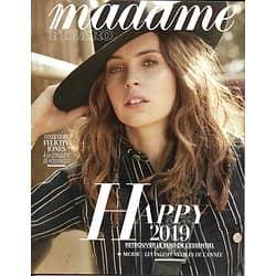 MADAME FIGARO n°23133 28/12/2018  Felicity Jones/ Gigi Hadid/ Richard Powers/ Tendances & indispensables 2019