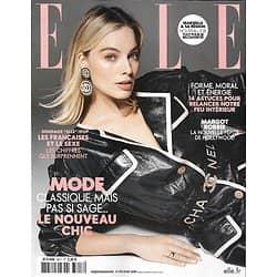 ELLE n°3817 15/02/2019  Margot Robbie/ Françaises & le sexe/ Mode, le nouveau chic/ Ba&sh le style complice/ Relancer son énergie